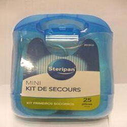 mini kit de secours 25 pièces