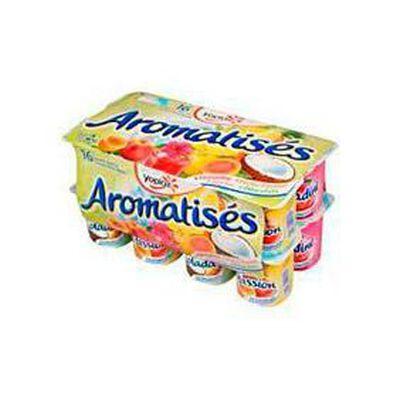 Yaourts sucrés fermes aromatisés,YOPLAIT, 16x125g