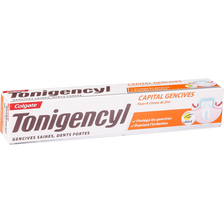 Dentifrice capital gencives & dents forte, COLGATE TONIGENCYL, tube de75ml