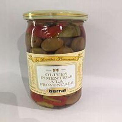 Olives Pimentées à la Provençale BARRAL