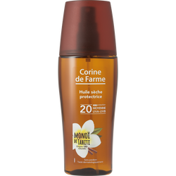 Huile sèche protectrice SPF20 CORINE DE FARME, spray de 150ml