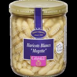 "Haricots blancs dits ""Mogettes"" GILLET CONTRES, 225g"