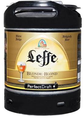 Bière Blonde LEFFE,6.6°, fût 6L