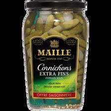 Maille Cornichons Extra-fins , Bocal De 380g