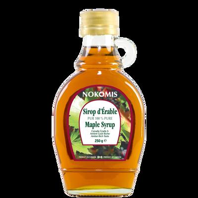 Sirop d'érable pur LEONETE, Bouteille de 189 ml