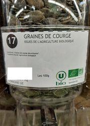 GRAINES DE COURGES BIO