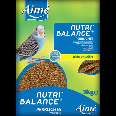 Nutri'balance perruches, AIME, 3kg