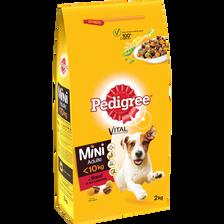 Croquettes pour petits chien au boeuf, légumes et riz PEDIGREE, 2kg