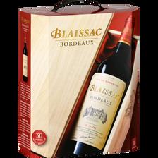 Blaissac Vin Rouge Aop Bordeaux , Fontaine À Vin De 3l
