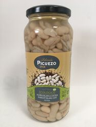 Picuezo - Haricots Blancs Cuits - Bio - 540G