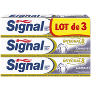 Signal Dentifrice Intégral Complet Signal, 3 Tubes De 75ml
