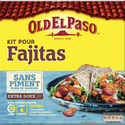 Old El Paso Kit Fajitas Aux Épices Douces Sans Piment , 478g