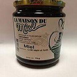 miel de sapin et forêt 1 kg LA MAISON DU MIEL