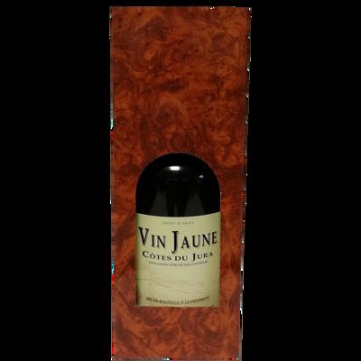 Côtes Jura vin jaune FRUITIERE VINICOLE DE VOITEUR, coffret carton 1 bouteille 0.62l