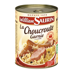 Choucroute Famille Gourmande WILLIAM SAURIN, 400g