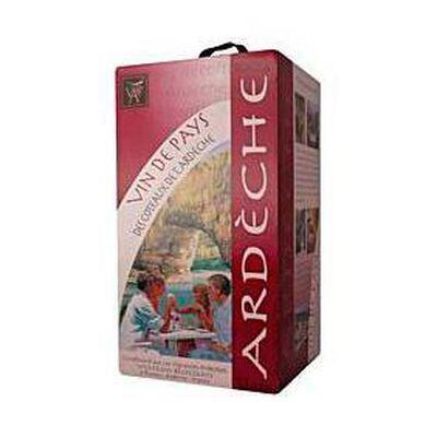 Vin Rouge Ardéche 5L Céllier du pont d'Arc