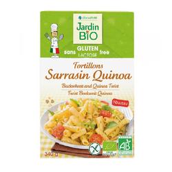 Tortillons Sarrasin Quinoa sans gluten JARDIN BIO 340g