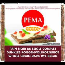 Pain Schwarzbrot noir seigle PEMA, 500g