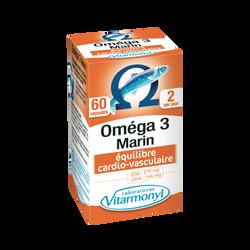 Oméga 3 VITARMONYL, x60 capsules