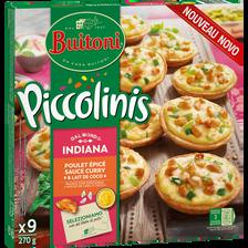 Piccolinis indiana BUITONI, paquet de 9, 270g