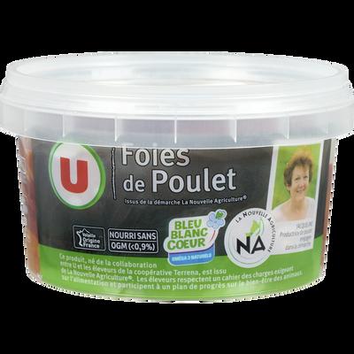 Foie de poulet, U, France