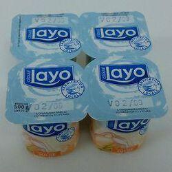 LAYO NATURE SUCRE 4X125G