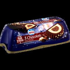 Nestlé Bûche Glacée 3 Chocolats , 540g