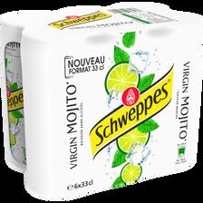Schweppes Mojito, Canette Slim 6x33cl