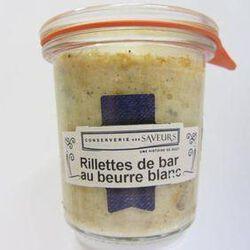 Rillettes de bar au beurre blanc CONSERVERIE DES SAVEURS,100g