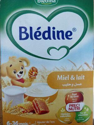 Céréale infantile blédine miel & lait BLEDINA, 250g
