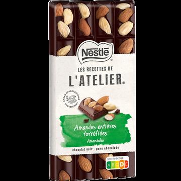 Nestlé Chocolat Noir Amande Les Recettes De L Atelier Nestlé 170g