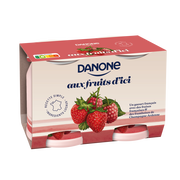 Danone Fruits D'ici Fruits Rouges Danone, 2x145g