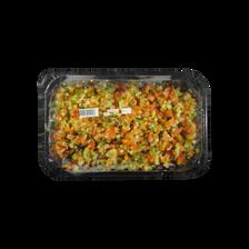 Mélange taboulé (concombre,oignon,poivron rouge/vert,tomate), barquette, 250g