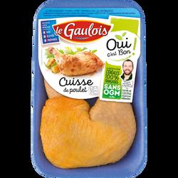 Cuisse poulet jaune, OCB LE GAULOIS, France, 2 pièces