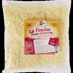 La fondue Franc Comtoise au 3 fromages au lait cru 32% de MG, BADOZ, 500g
