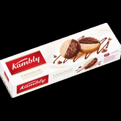 Biscuits chocolune meringués au chocolat KAMBLY, 100g