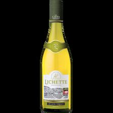 Vin blanc de table Lichette, 75cl