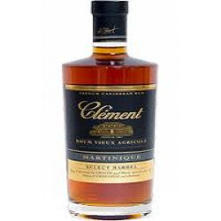 Rhum Select Barrel CLEMENT, 40°, 70 cl