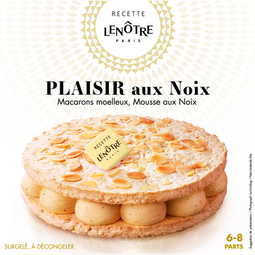 Labeyrie Plaisir Aux Noix Recette Lenôtre Labeyrie, 410g