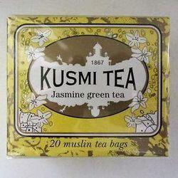 Vert Jasmin - Etui 20 sachets KUSMI TEA, 44g