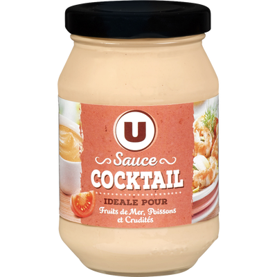 Sauce cocktail U, pot en verre de 242g