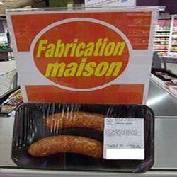 Saucisses Chorizo x 2 FABRICATION MAISON 0.250 kg env