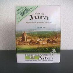 """Vin du Jura blanc Arbois Chardonnay """"Fruitière Vinicole d'Arbois"""", 3L"""