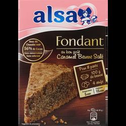 Préparation pour fondant saveur caramel au beurre salé ALSA, 362g