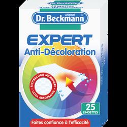 Lingettes anti-décoloration en microfibre DR BECKMANN, x25