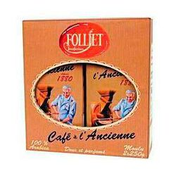 café moulu à l'ancienne FOLLIET 2x250g