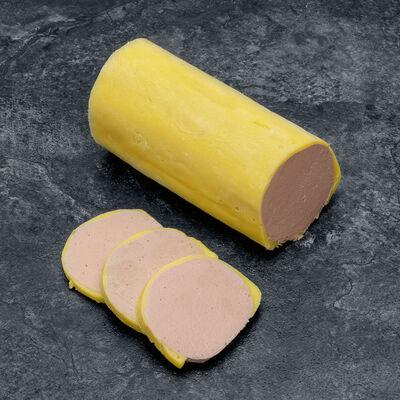 Mousse pur canard graisse jaune rouleau