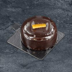 Entremets chocolat/orange décongelé, 1 pièce, 125g