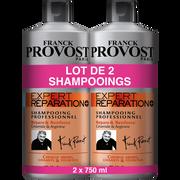 Franck Provost Shampoing Expert Réparation Franck Provost, 2 Flacons De 750ml