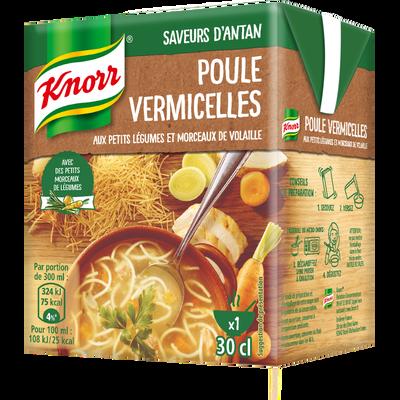 Soupe poule aux vermicelles KNORR, 300ml